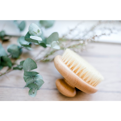ECO. Lavender, Sweet Almond & Dry Body Brush pack