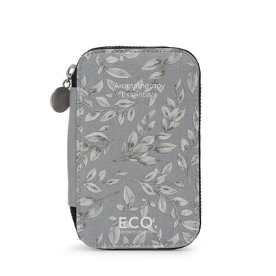 Floral Hemp Travel Case