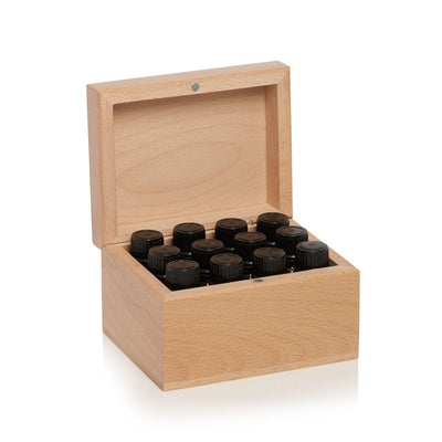 ECO. Wooden 12 Essential Oils Box