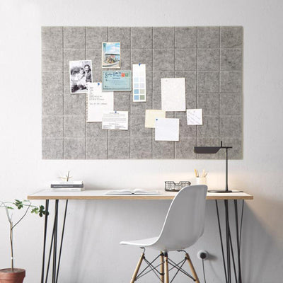 Felt Note Board - fenston-white