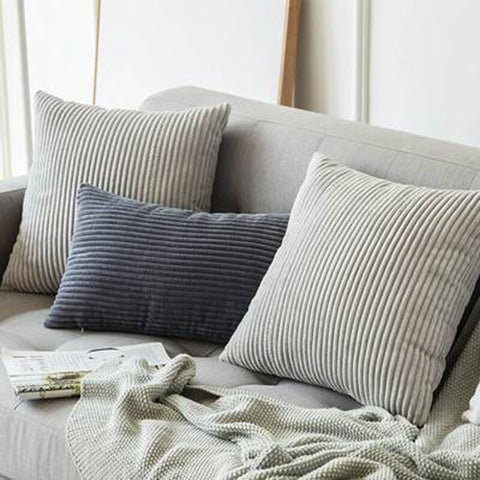 Corduroy Cushion Cover - fenston-white