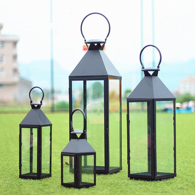 Classic High Quality Outdoor Candle Holder - fenston-white