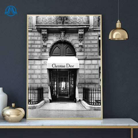 Luxury Brand Posters Canvas Prints - fenston-white