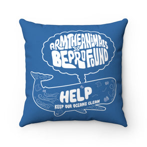 Accessory | Help Keep Our Oceans Clean | Pillow