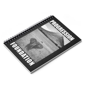 Accessory | Elephant B/W | Spiral Notebook - Ruled Line