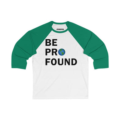 Women's | Be Profound | Oversized Raglan Tee