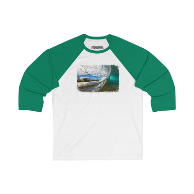 Women's | Wave Fade | Oversized Raglan Tee