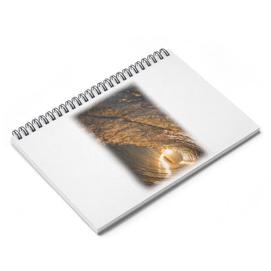 Accessory | Wave Fade | Spiral Notebook - Ruled Line