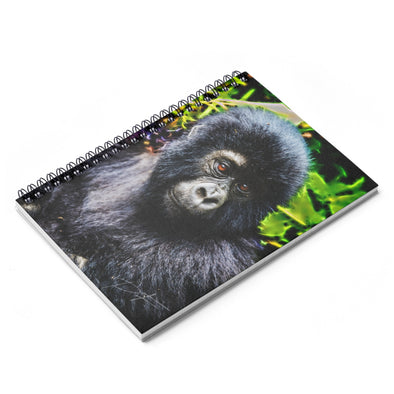 Accessory | Monkey Glow | Spiral Notebook - Ruled Line