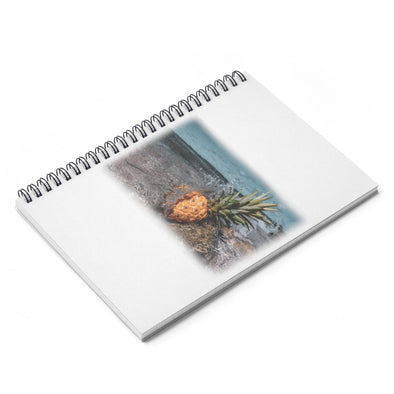 Accessory | Pineapple Fade | Spiral Notebook - Ruled Line