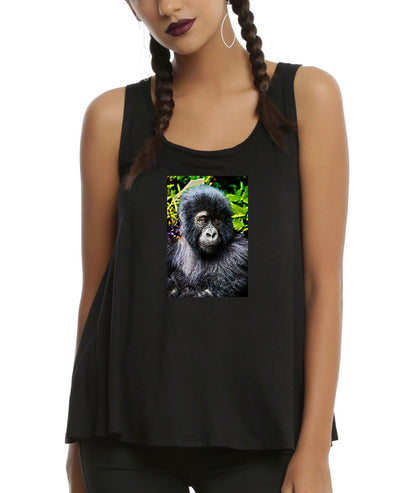 Women's | Monkey Glow | Ideal Racerback Tank