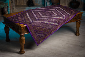 Patchwork Gujarat Purple