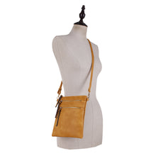 Load image into Gallery viewer, Double Zipper Slim Crossbody