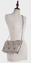 Load image into Gallery viewer, Isabelle Designer Inspired Geometric Mini Tote (87480A)