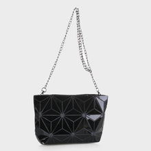 Load image into Gallery viewer, Isabelle Designer Inspired Geometric Mini Tote (87480A BKM)
