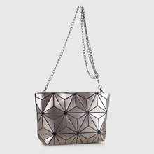 Load image into Gallery viewer, Isabelle Designer Inspired Geometric Mini Tote (87480A CHAMP)