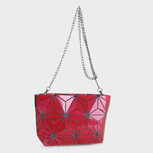 Load image into Gallery viewer, Isabelle Designer Inspired Geometric Mini Tote (87480A RD)