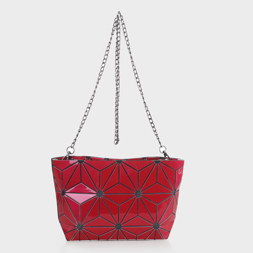 Isabelle Designer Inspired Geometric Mini Tote (87480A)