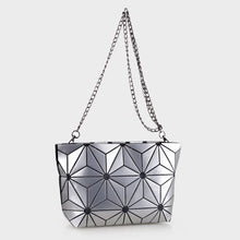 Load image into Gallery viewer, Isabelle Designer Inspired Geometric Mini Tote (87480A SL)