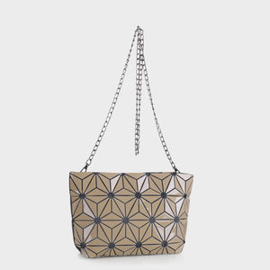 Isabelle Geometric Tote with Chain (87480B AL)