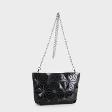 Load image into Gallery viewer, Isabelle Geometric Tote with Chain (87480B BKM)