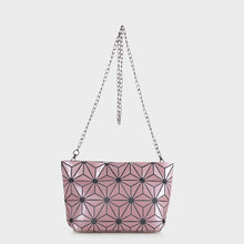 Load image into Gallery viewer, Isabelle Geometric Tote with Chain (87480B)