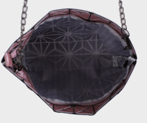 Isabelle Geometric Tote with Chain (87480B)