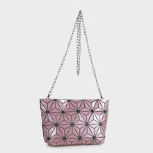 Load image into Gallery viewer, Isabelle Geometric Tote with Chain (87480B PKM)