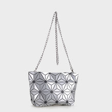 Load image into Gallery viewer, Isabelle Geometric Tote with Chain (87480B SL)