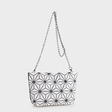 Load image into Gallery viewer, Isabelle Geometric Tote with Chain (87480B WT)