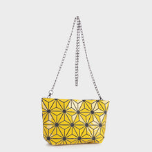 Load image into Gallery viewer, Isabelle Geometric Tote with Chain (87480B YL)