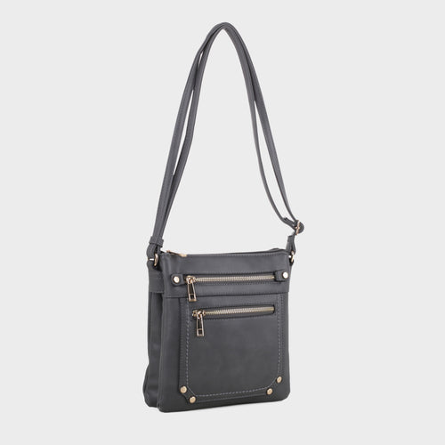 Dual Compartment Crossbody