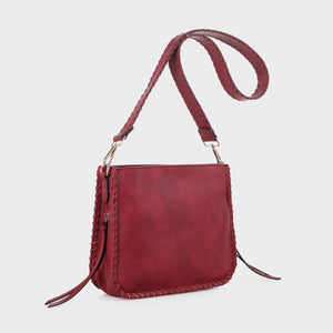Isabelle Whip-stitch Shoulder Bag (87717A BD)
