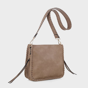 Isabelle Whip-stitch Shoulder Bag (87717A DTP)