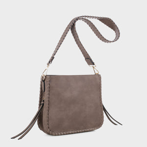Isabelle Whip-stitch Shoulder Bag (87717A ST)