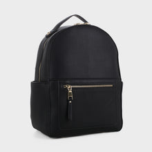 Load image into Gallery viewer, Classic Vegan Leather Backpack (87933 BK)