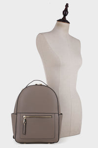 Classic Vegan Leather Backpack (87933)