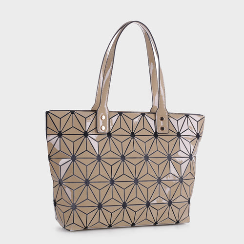 Isabelle Large Geometric Tote (87941 AL)