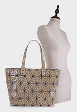 Load image into Gallery viewer, Large Geometric Tote (87941)