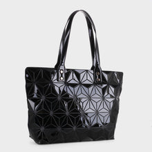 Load image into Gallery viewer, Isabelle Large Geometric Tote (87941 BKM)