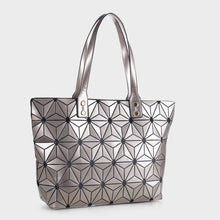 Load image into Gallery viewer, Isabelle Large Geometric Tote (87941 CHAMP)
