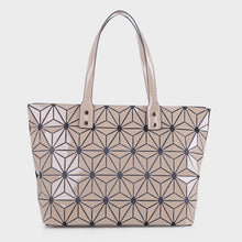Load image into Gallery viewer, Isabelle Large Geometric Tote (87941)