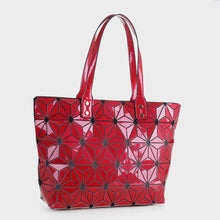 Load image into Gallery viewer, Isabelle Large Geometric Tote (87941 RDM)