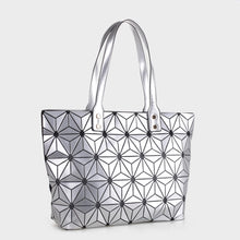 Load image into Gallery viewer, Isabelle Large Geometric Tote (87941 SL)