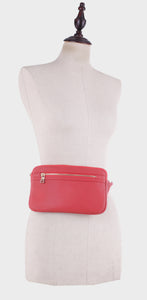 Slim Vegan Leather Fanny Pack (FC19515)