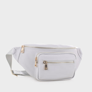 Classic Vegan Leather Fanny Pack (FC19516 LGY)