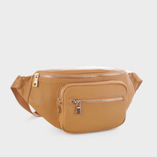 Load image into Gallery viewer, Classic Vegan Leather Fanny Pack (FC19516 MD)