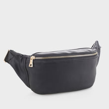Load image into Gallery viewer, Vegan Leather Fanny Pack (FC19517 BK)