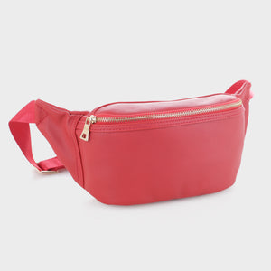 Vegan Leather Fanny Pack (FC19517 RD)