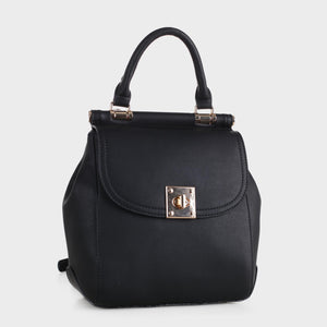 Chic Mini Backpack with Top Handle